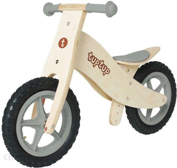 tuptup drewniany rowerek biegowy grey tt031 ceny i. Black Bedroom Furniture Sets. Home Design Ideas