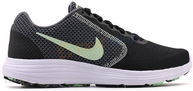 Nike Damskie Revolution 3 Czarny Miętowy 819303017