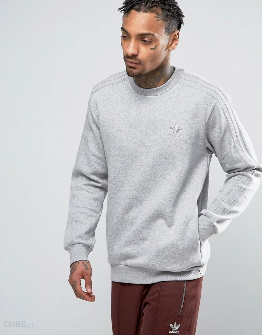 Adidas Originals TRF Series Crewneck Sweatshirt In Grey BK5895 Grey Ceneo.pl