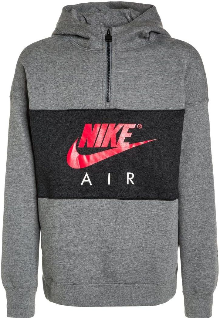 4281c47cd Nike Performance AIR Bluza carbon heather/anthracite/siren red - zdjęcie 1
