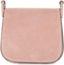 518b0e1061bf4 Listonoszka Skórzana Genuine Leather Różowa Panitorbalska.pl
