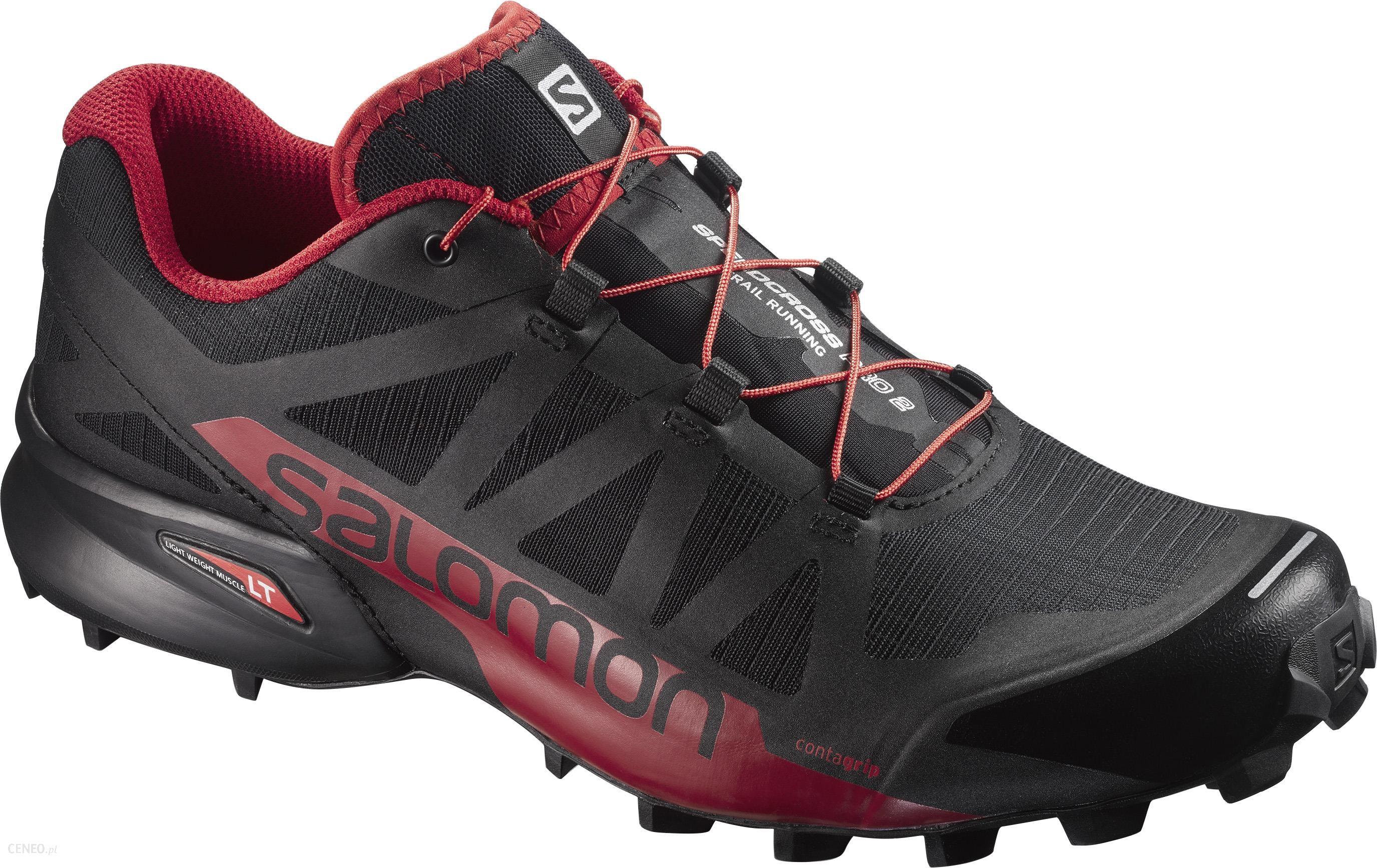 Buty do biegania SALOMON SPEEDCROSS PRO Czerwony