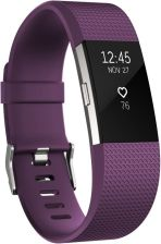 FitBit Charge 2 HR S Plum-Silver (IMFBC2SPU)