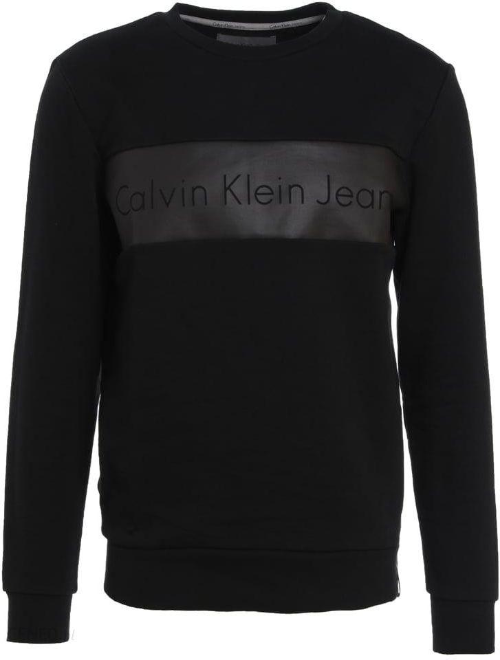 6720d401b Calvin Klein Jeans HUSION Bluza black - Ceny i opinie - Ceneo.pl