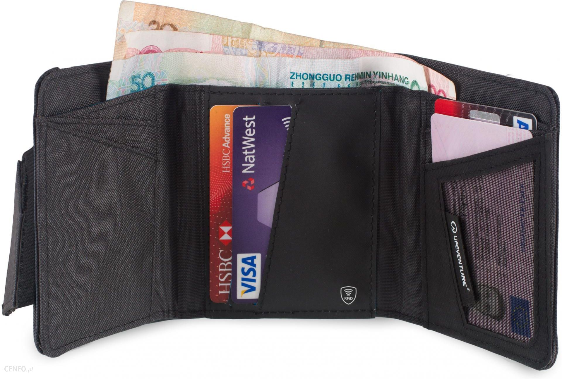 91733fd6e8657 Lifeventure Portfel RFID Protected Tri-Fold Wallet - Ceny i opinie ...