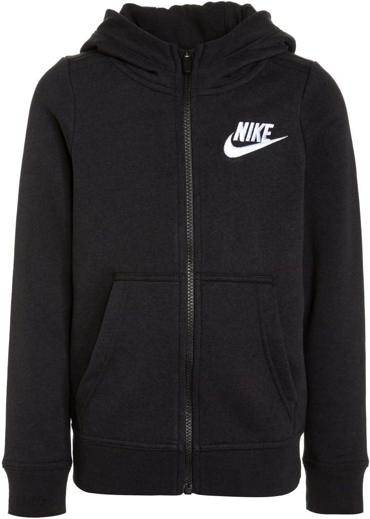 Nike Performance CLUB Bluza rozpinana blackwhite