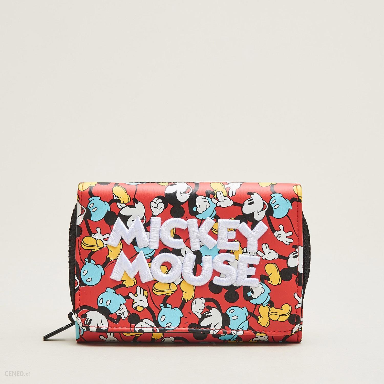 Modish Cropp - Portfel mickey mouse - Czerwony - damski - Ceny i opinie JI06