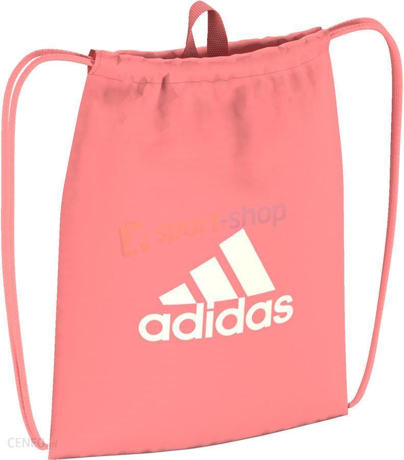 e0f1260cf7b0f Worek na buty i odzież Performance Logo GB Adidas (różowy) - Ceny i ...