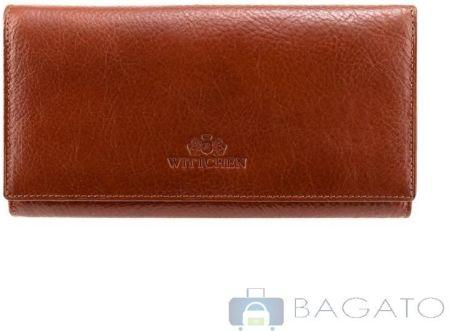 7518d30bb2343 Portfel poziomy damska Wittchen Italy 21-1-052 - czerwony - Ceny i ...