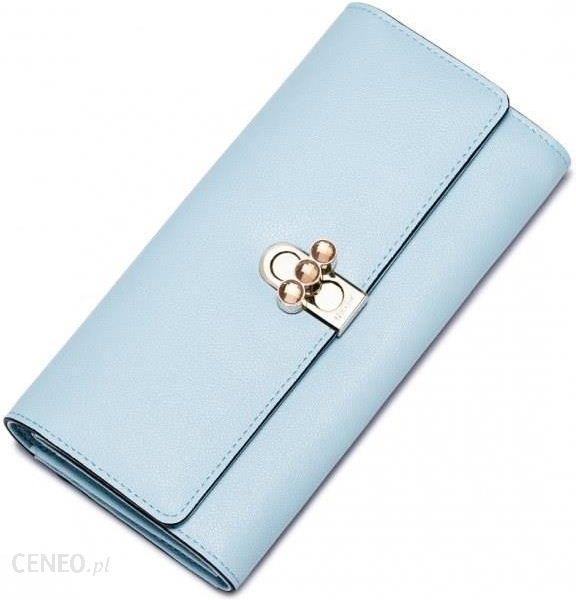 803efaa1a7ed0 Długi damski portfel z wiosennej kolekcji Niebieski - Ceny i opinie ...