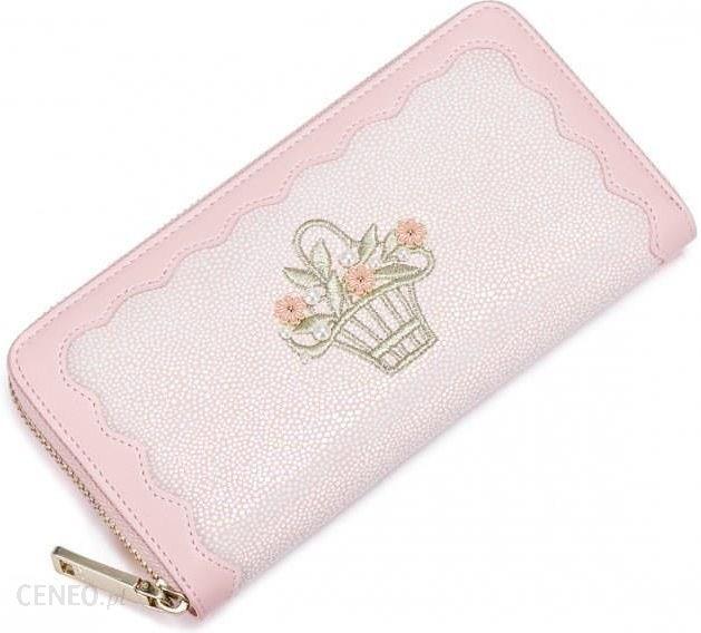 aa6ceba1923ef NUCELLE Powabny portfel różowy - Ceny i opinie - Ceneo.pl