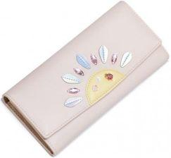 400166576afd1 NUCELLE Słoneczny pudrowy długi portfel różowy - Ceny i opinie ...