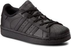 7a96edb79229a Buty adidas - Superstar Foundation C BA8381 Cblack Cblack Cblack eobuwie