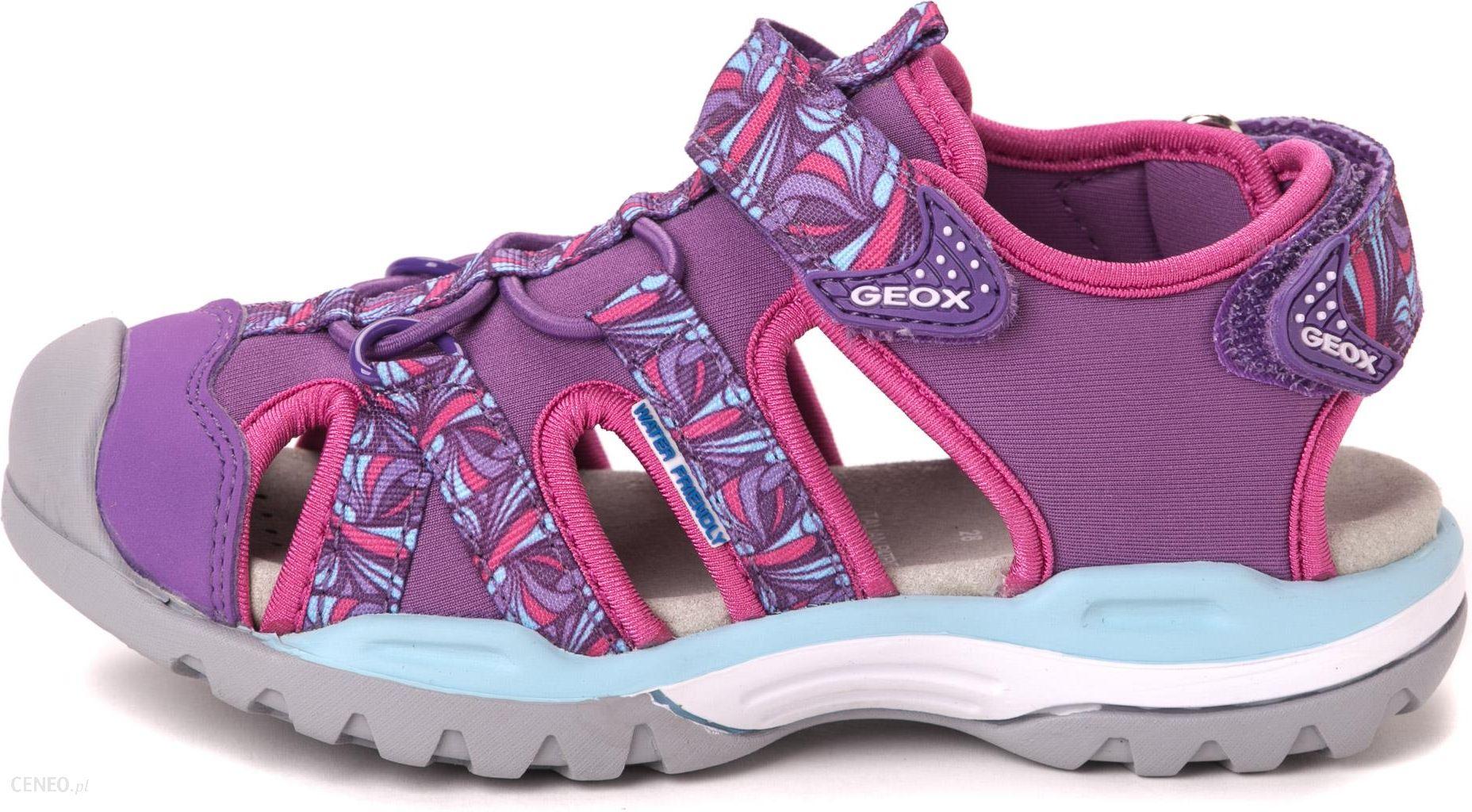 12e7f5e458864 Geox sandały dziewczęce Borealis 28 fioletowy - Ceny i opinie - Ceneo.pl