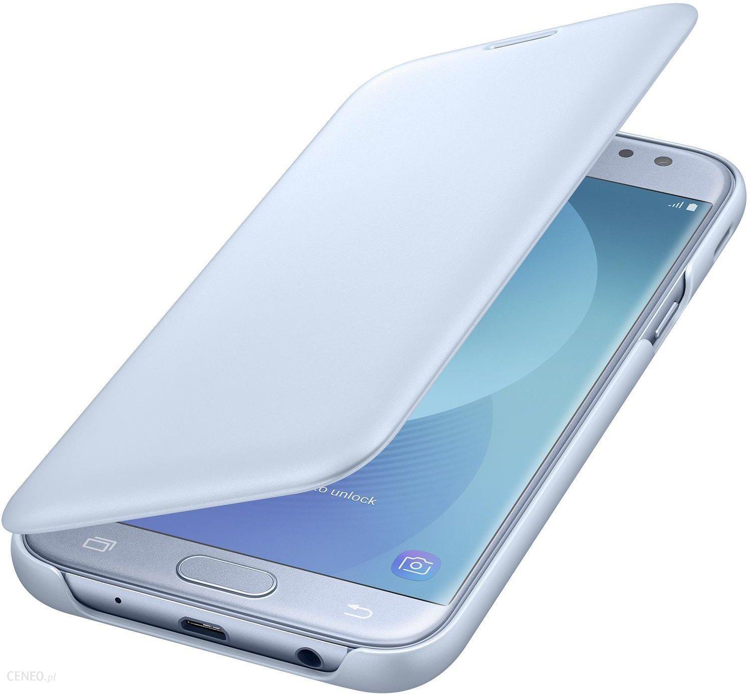 new product d82a4 8e809 Samsung Wallet Cover do Galaxy J5 (2017) Niebieski (EF-WJ530CLEGWW)