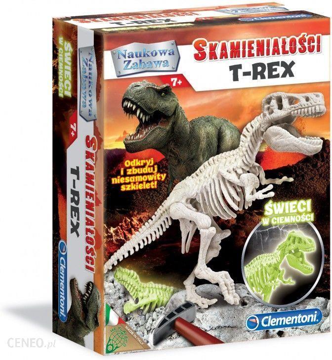 prezent dla 9-latka clementoni t-rex
