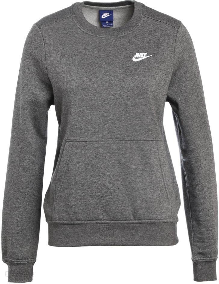 nike sportswear bluza charcoal heather white