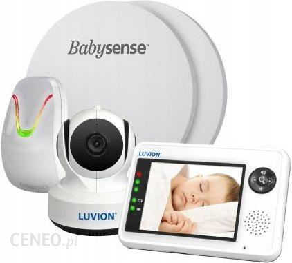 Babysense Monitor Oddechu 5 + Videoniania Luvion Essential 2W1