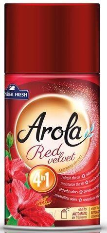 Arola General Fresh Freshmatic Czerwony Aksamit Samouwalniający Odświeżacz Powietrza Zapas 250ml