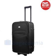 30eb6d639ad23 Mała kabinowa walizka PELLUCCI 773 S - Czarna - czarny