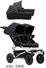 Mountain Buggy Duet 3  Grid Głęboko Spacerowy