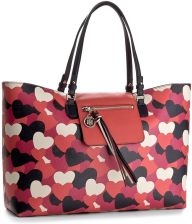 76340d45741 Torebka TOMMY HILFIGER - Love Tommy Reversible Tote Heart AW0AW04070 906