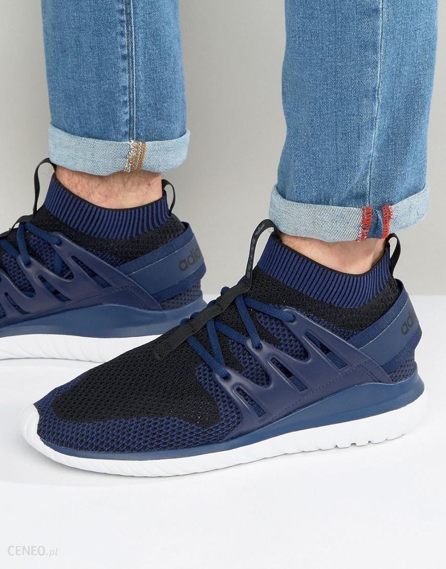 Adidas Originals Tubular Nova Primeknit Trainers In Blue S80108 Blue Ceneo.pl