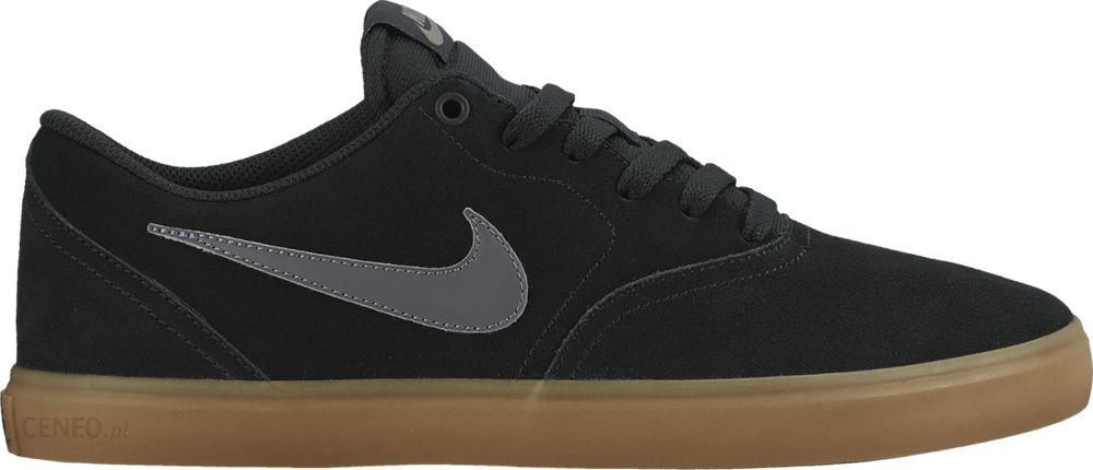 Buty NIKE Sb Check Solar Cnvs 843896 002 BlackAnthracite