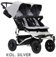 Mountain Buggy Duet 3 Silver Spacerowy