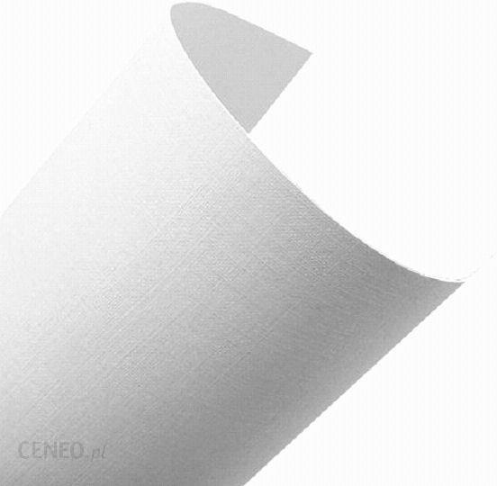 Dystrybucja Kraina Papieru Elfenbens A4 246g Biały 207 Len 2 X10