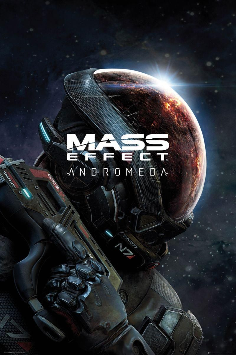 Mass Effect Andromeda Plakat Z Gry