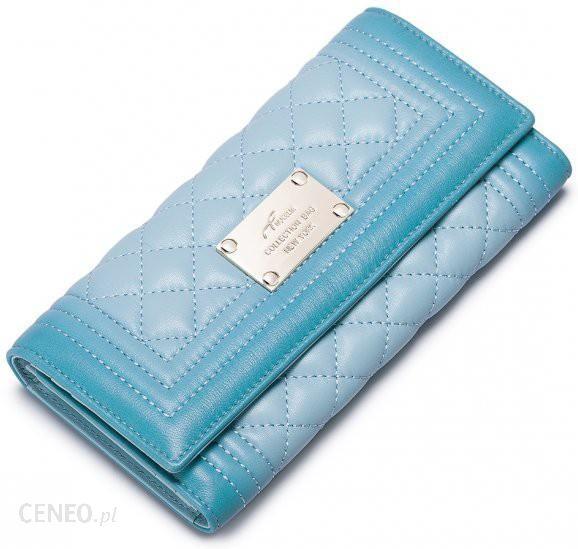 873cde6e83f67 NUCELLE Długi portfel z gradientem Zielony - Ceny i opinie - Ceneo.pl