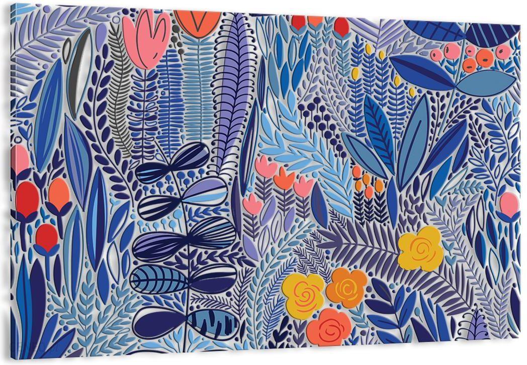 Obraz Na Płótnie Kwiaty Abstrakcja Aa100x70 2944 Opinie I