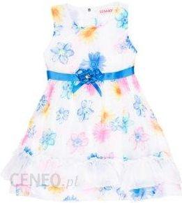 b4e22b7e59 Sukienka dziewczęca z falbankami