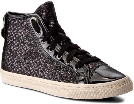 separation shoes ab87c 37f05 Sneakersy GEOX - D N. Club E D5458E 0EWHH C9997 Black eobuwie