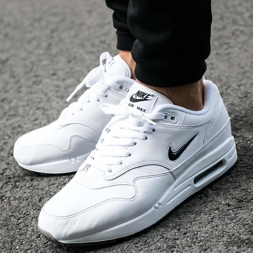cd477f20f2e3 Buty Nike Air Max 1 Premium SC Jewel White Black (918354-103) - Ceny ...