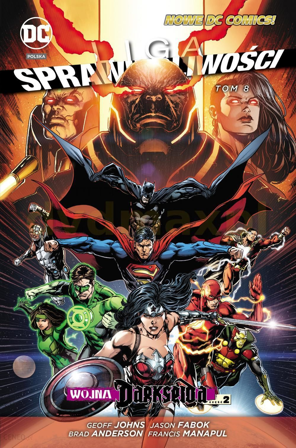 Wojna Darkseida część 2 Liga sprawiedliwości (Tom 8)  KOMIKS  - zdjęcie 1 ef60ceb0f2