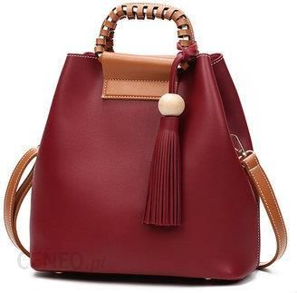 53113740da Stylish PU Leather Handbag Bucket Bag Shoulder Bags Crossbody Bags For  Women - zdjęcie 1