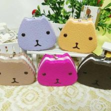 1PC 10CM Random Color Carapace Squishy Layer Cake Cellphone Strap Cream Scented