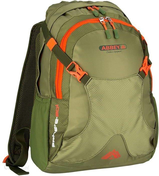 Plecak Abbey Plecak Turystyczny Miejski 20l Zielony Ceny I Opinie Ceneo Pl