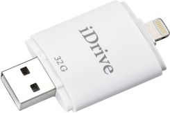 iDrive 16G/32G/64G/128G Flash Drive with USB+Lightning Connectors