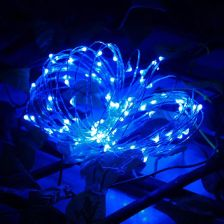 Waterproof 10M 100 LED Rope Lights Outdoor Solar String Lights