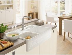 Ikea Havsen Sink Bowl W Visible Front Easy To Clean With Soft Rounded Corners Sink Ikea Sinks Ceramic Kitchen Sinks
