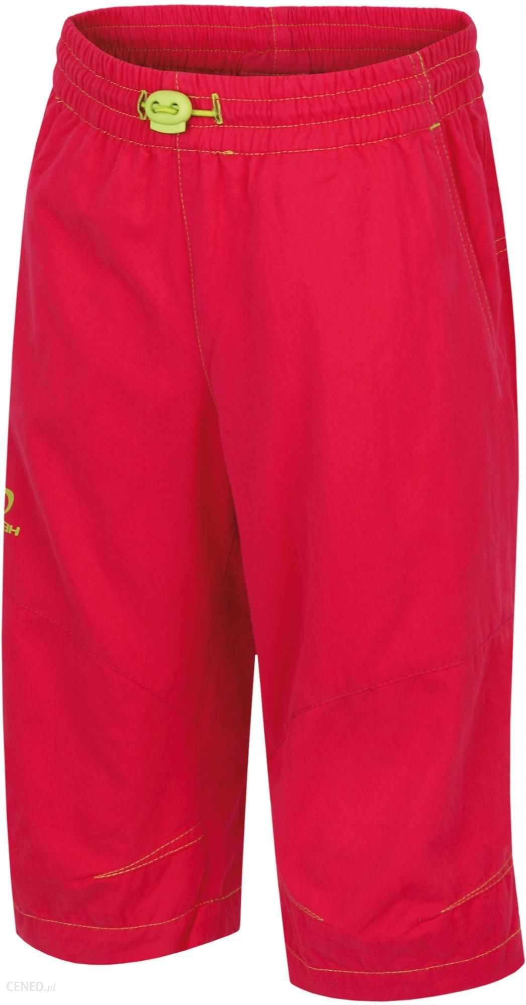 3 4 spodnie czerwone męskie hannah