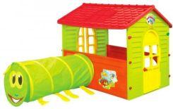 Mochtoys Domek Ogrodowy Dla Dzieci Z Tunelem