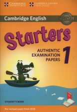 Cambridge English Starters 1 Student's Book Authentic Examination Papers