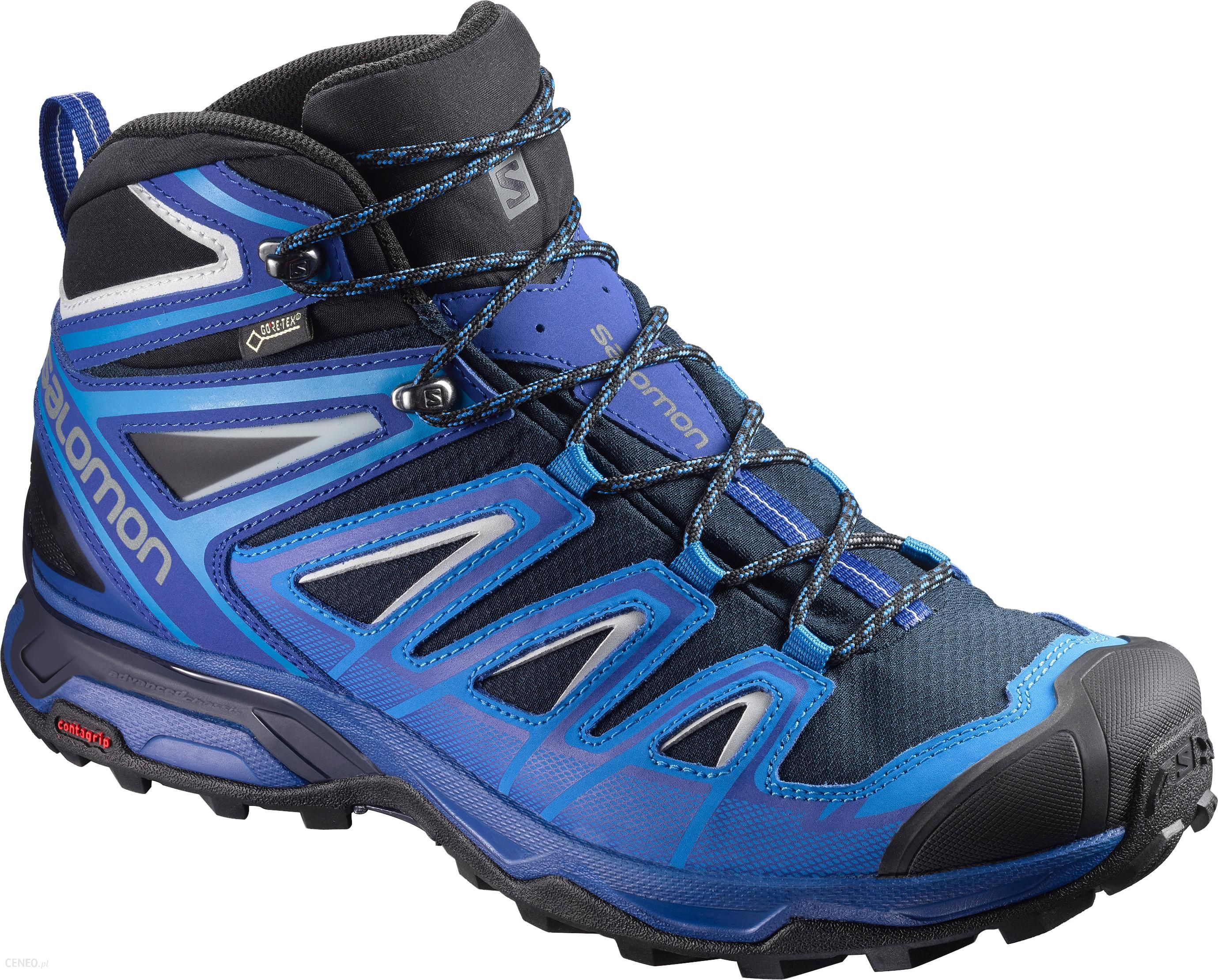 Salomon X Ultra 3 Mid Gtx Navy Blue