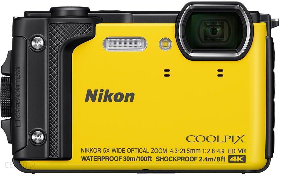 db9e11990f4c3 Aparat cyfrowy Nikon Coolpix W300 żółty - Ceny i opinie na Ceneo.pl