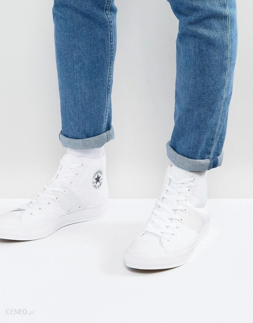 Converse Chuck Taylor All Star II Hi White Canvas Trainers