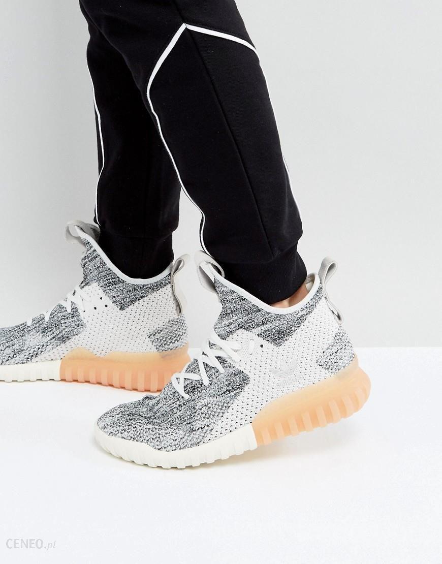 Adidas Originals Tubular X Primeknit Trainers In Grey BY3146 Grey Ceneo.pl